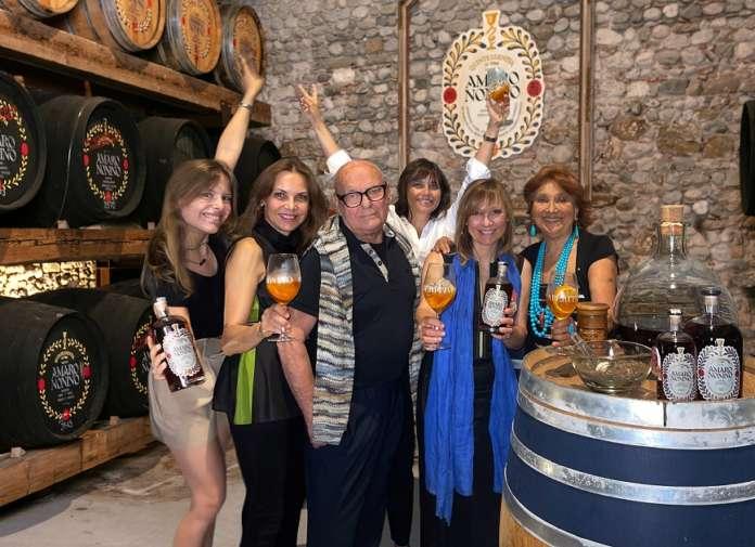 La famiglia Nonino nella Cantina Amaro Nonino Quintessentia