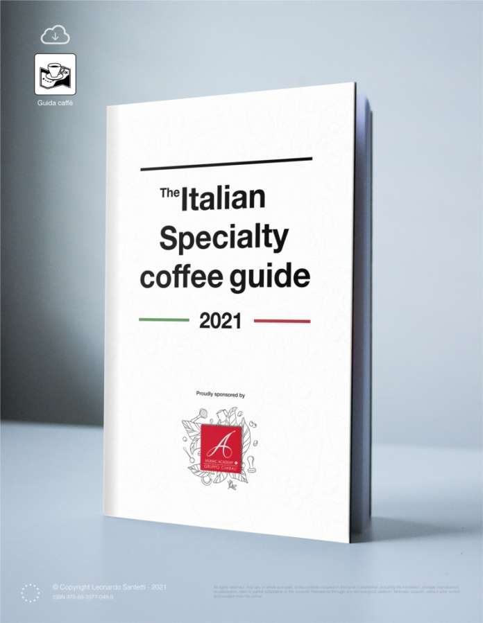 Copertina Italian specialty coffee guide